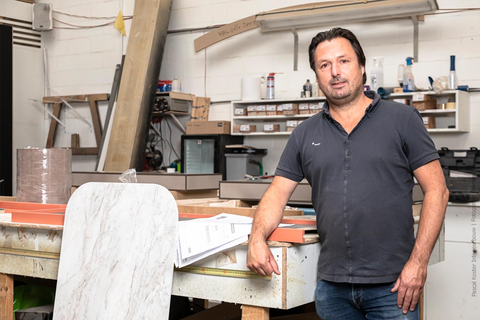 In gesprek met Pascal Koster Interieurbouw